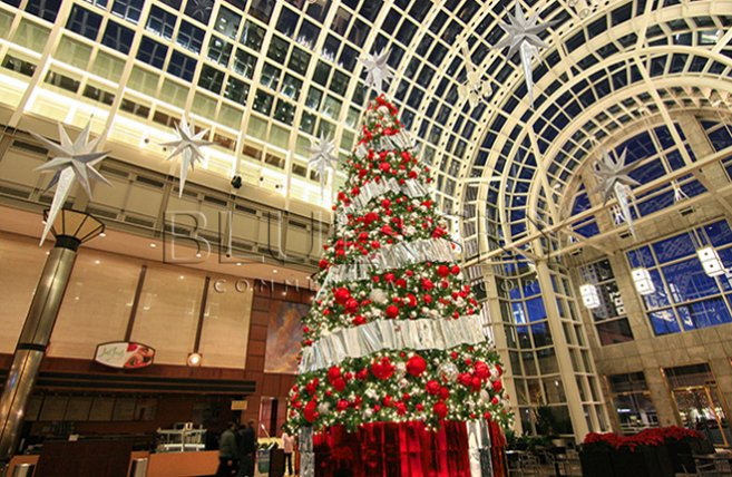 Mall Corporate Commercial Christmas Decorations